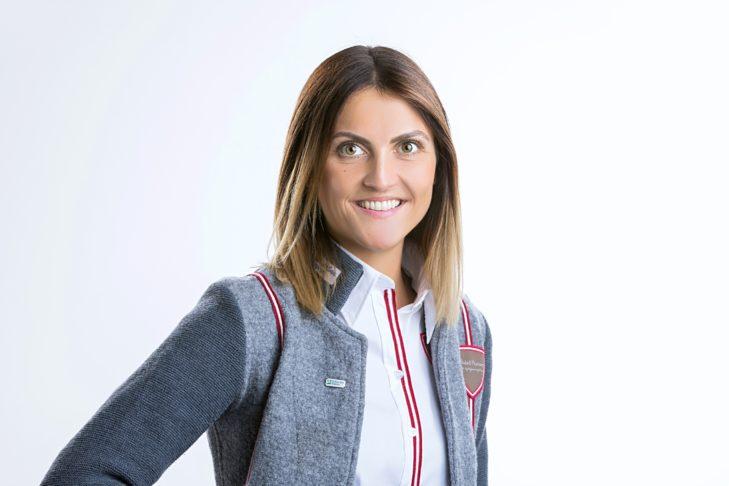 Johanna Klammer vom Tourismusverband Zell am See-Kaprun stand SnowTrex Rede und Antwort.