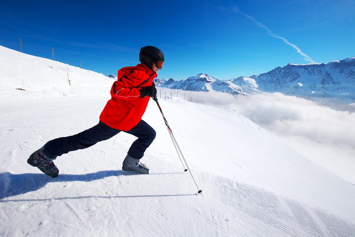kleidung nach dem skilaufen