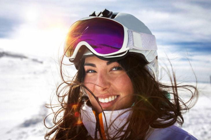 Die Passform der Skibrille trägt entscheidend zum Pistenerlebnis bei.