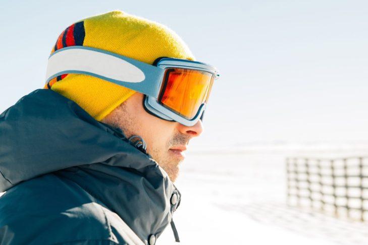 Bei schlechten Witterungsverhältnissen helfen gelbe Gläser.