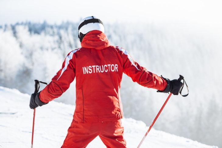 Am leichtesten ist der Einstieg mit einem Skikurs.