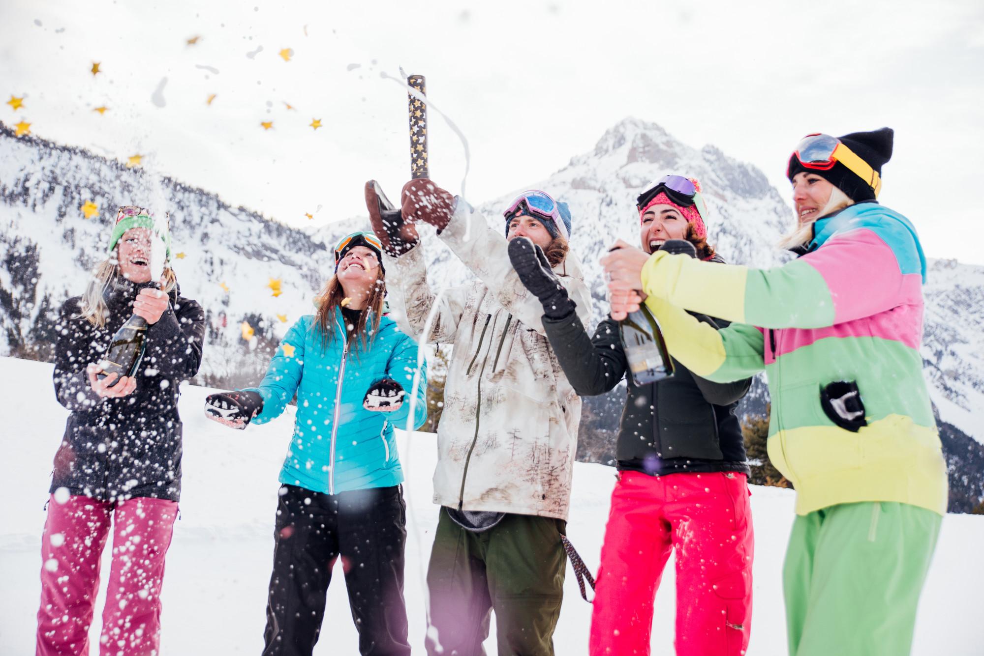 Viele Wintersportler wollen im Skiurlaub nicht auf guten Après-Ski  verzichten. e67f5bbdf