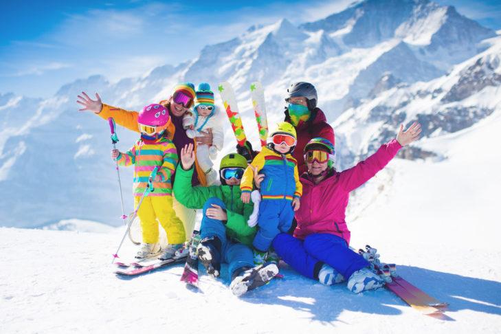 Skiurlaub mit der ganzen Familie? Kein Problem!