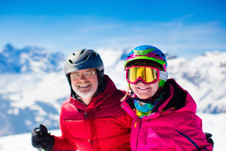 Skifahren lässt sich in jedem Alter lernen!