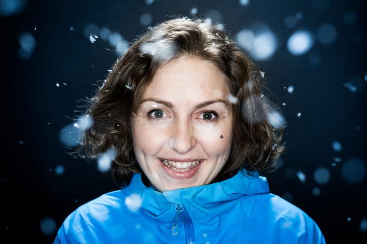 Suzi Steiger von Zermatt Tourismus stand SnowTrex Rede und Antwort.