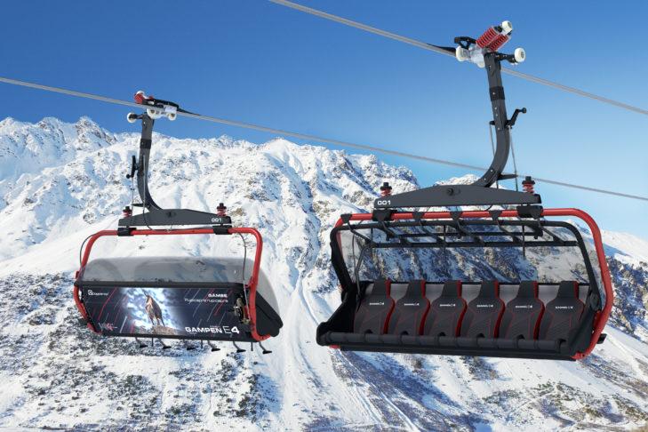 Hochmoderne Sessellifte machen auch das Liftfahren in Ischgl zum Vergnügen.