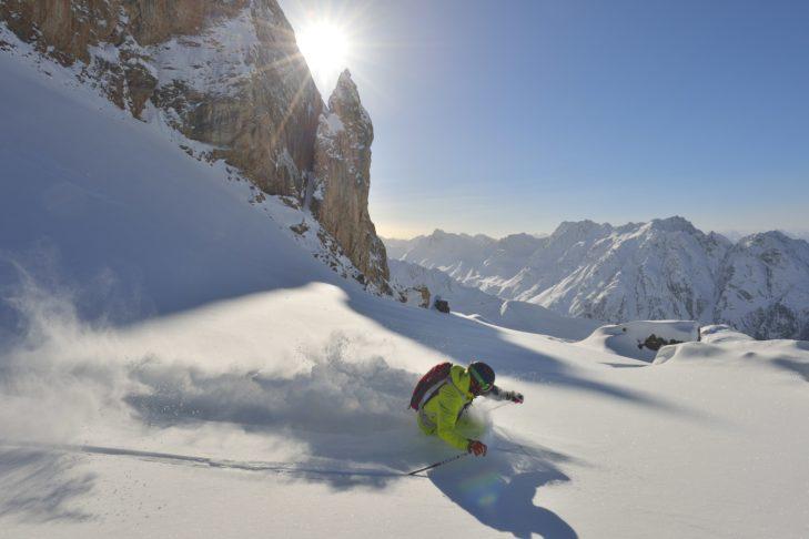 Das Skigebiet Ischgl bietet Pisten für alle Könnerstufen.