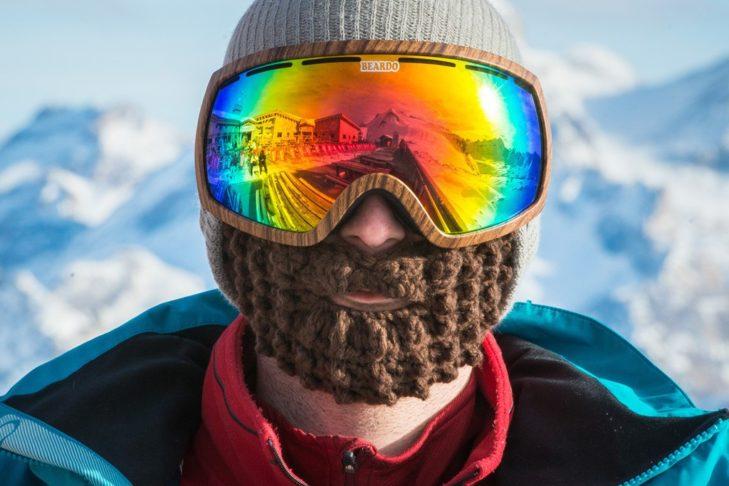 Mit dem Beardo ist es rundum warm im Gesicht.
