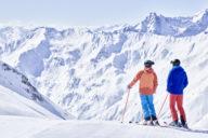 Skifahren in Österreich