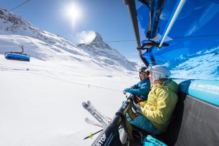 Ein Skiurlaub in Zermatt bedeutet Schneesicherheit!
