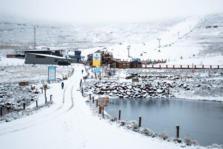 Das Skigebiet Afri Ski liegt auf einer stolzen Höhe von bis zu 3.300 m.
