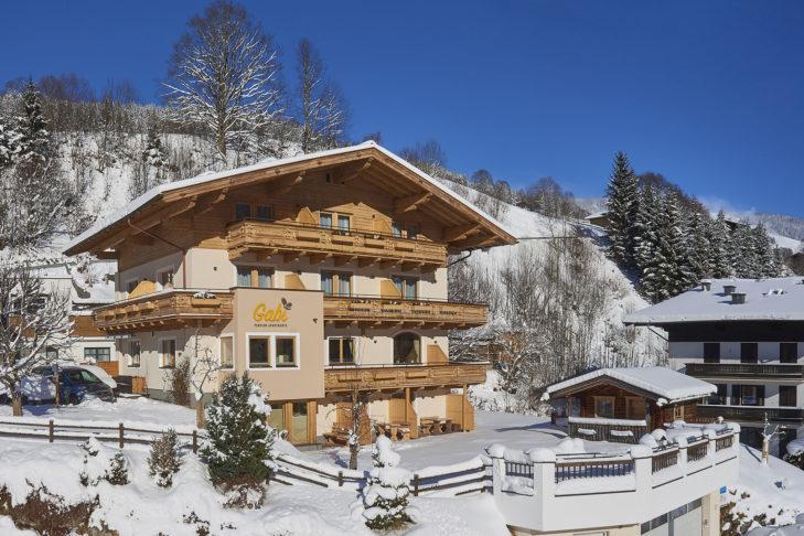 Gemütliche Unterkunft in Österreich: die Pension Gabi in Saalbach.