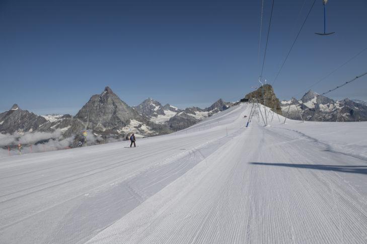 Lust auf die höchstgelegene Piste der Alpen? Dann nichts wie ab nach Zermatt!