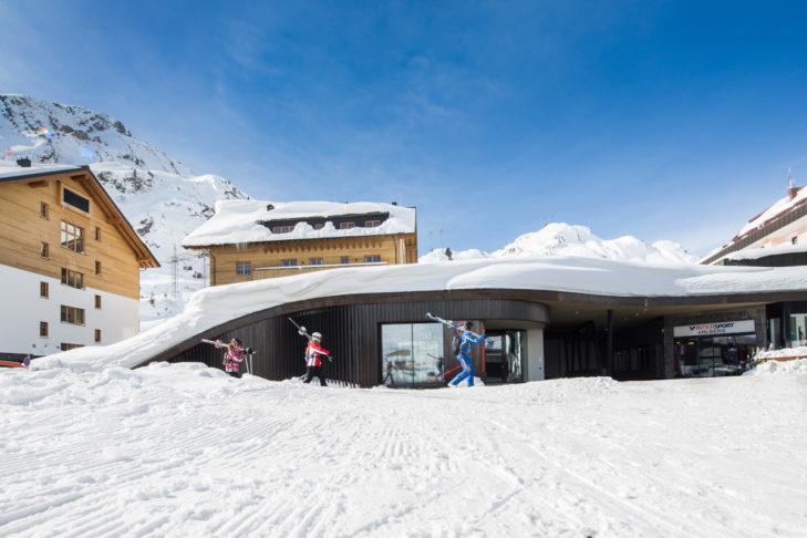 Für Musik in luftigen Höhen sorgt der höchste Konzertsaal der Alpen am Arlberg.