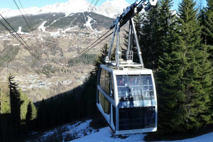 Der Vanoise Express ist die größte doppelstöckige Luftseilbahn der Welt.
