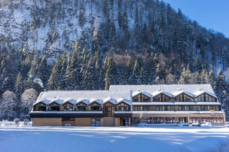 Das JUFA Hotel Almtal in Grünau.