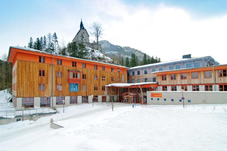 Das JUFA Hotel in Mariazell-Sigmundsberg.