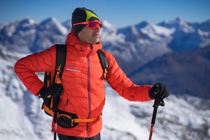 "In den Bergen zuhause: Skitourenwinter-Gründer ""HP"" Kreidl."