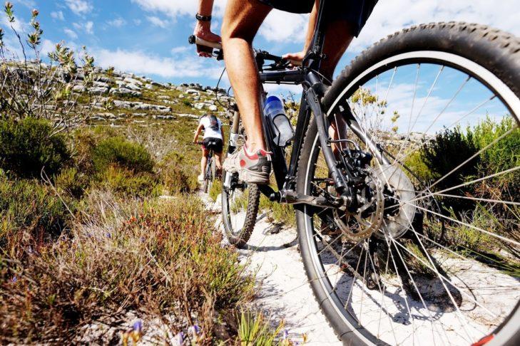 Dank abwechslungsreicher Strecken kann das Mountainbiken intensiv oder moderat ausgeführt werden.