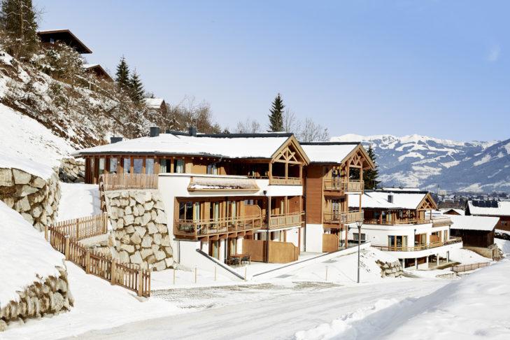 Das Kaprun Glacier Estate ist eines der Skihotels, die eine E-Ladestation anbieten.