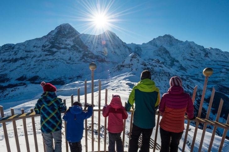 Tolle Aussichten für Familien in der Jungfrau Region!