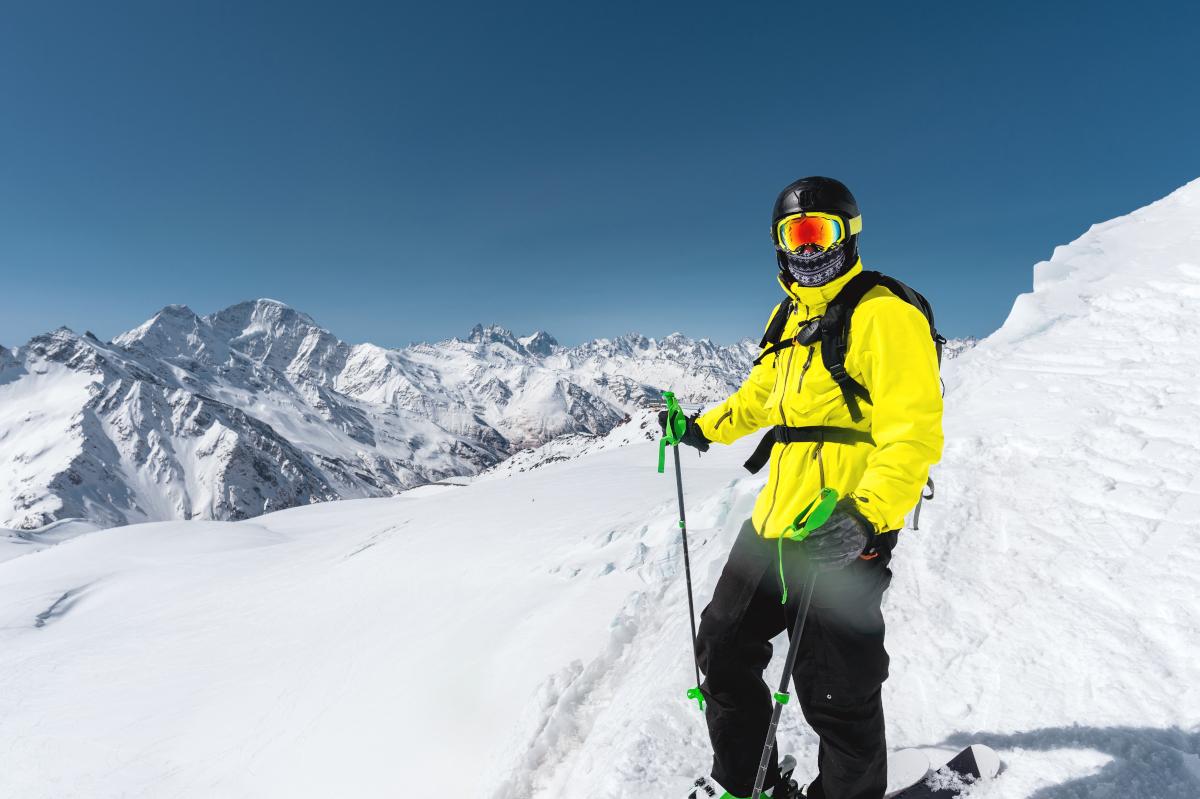 Protektor Skifahren